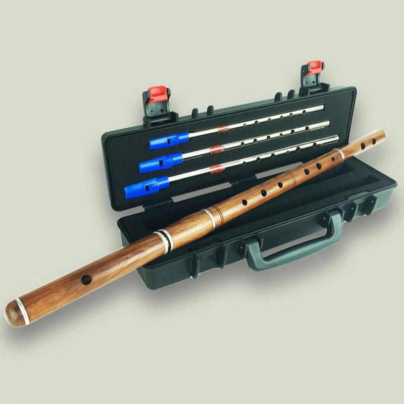 McNeela The Cygnet Irish Rosewood Flute with Foam Lined Box